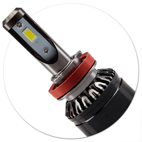 Imagem de Par Lâmpadas LED Osram LEDriving H11 6000K 25W 12V Tonalidade Branca Aplicação Farol