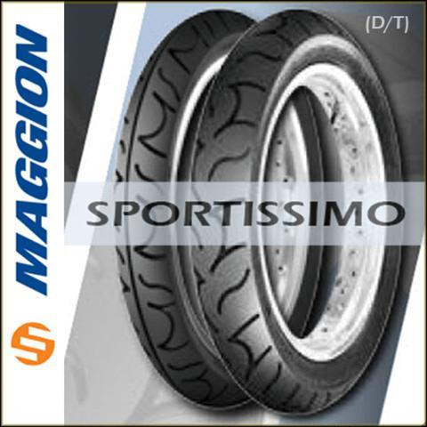 Imagem de Par Pneu Cb 300 140/70/17+110/70/17 - Fazer 250 - Maggion Sportissimo Traseiro E Dianteiro