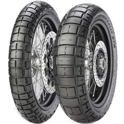 Imagem de Par Pneus Bmw R 1200 Gs Tiger Explorer 120/70R19 + 170/60R17 Scorpion Rally Str Pirelli