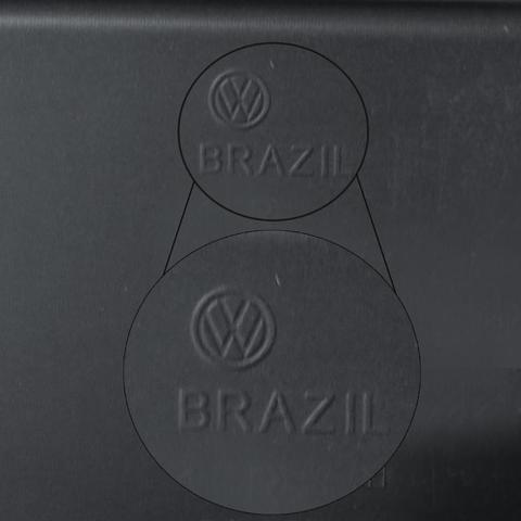 Imagem de Parachoque Traseiro Gol G5 2008 A 2013 Liso Com Furo Para Sensor De Estacionamento Original