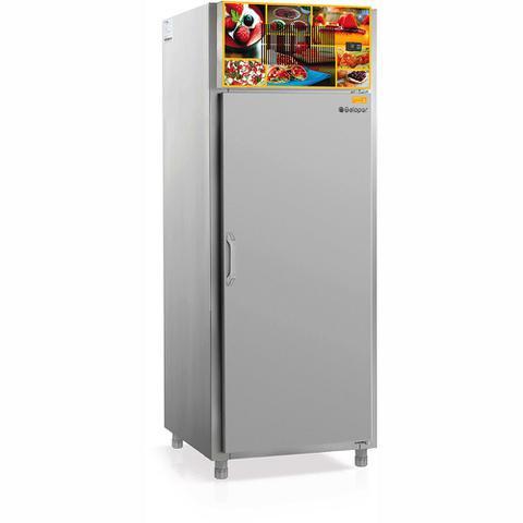 Geladeira/refrigerador 659 Litros 1 Portas Inox - Gelopar - 220v - Gptr-072