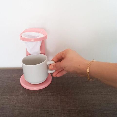 Imagem de Passador de Cafe Com Coador de Pano Mini