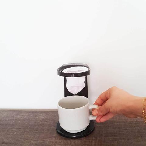 Imagem de Passador de café my coffe com refil ou