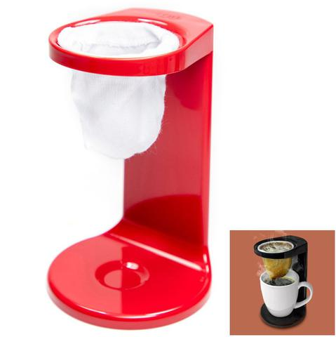 Imagem de Passador De Café My Coffee Individual Coador Mini Cafézinho C/ 1 Refil - PC 1100Ou