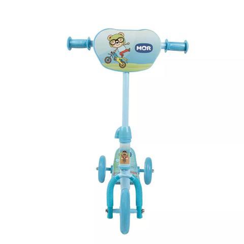 Imagem de Patinete 3 Rodas Infantil Azul Mor
