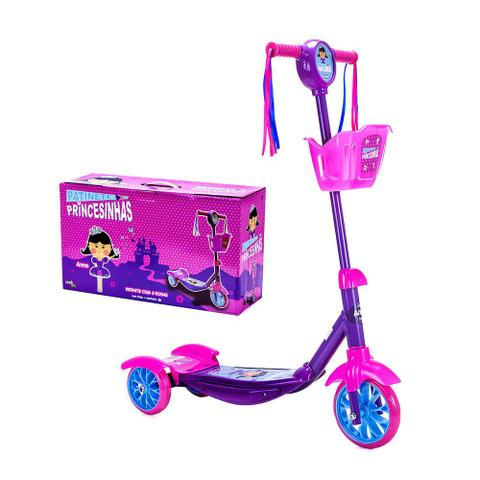 Imagem de Patinete 3 Rodas Princesinhas - Anne - Unik Toys