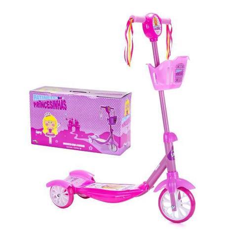 Imagem de Patinete 3 Rodas Princesinhas - Lory - Unik Toys