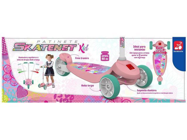 Imagem de Patinete 3 Rodas Skatenet 1501 - Bandeirante