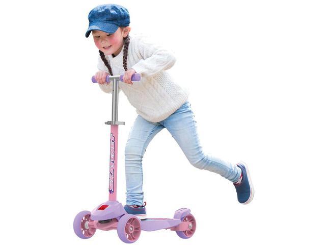 Imagem de Patinete 3 Rodas Skatenet Plus Slime - Bandeirante