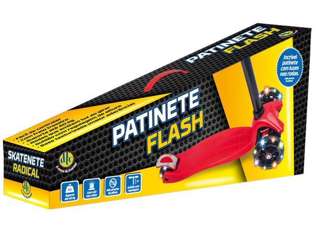 Imagem de Patinete Flash Skatenete Radical 3 Rodas