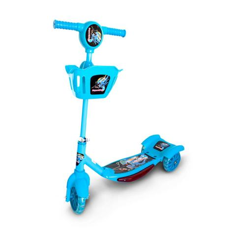 Imagem de Patinete Infantil 3 Rodas com Cesta Azul BW10AZ Importway