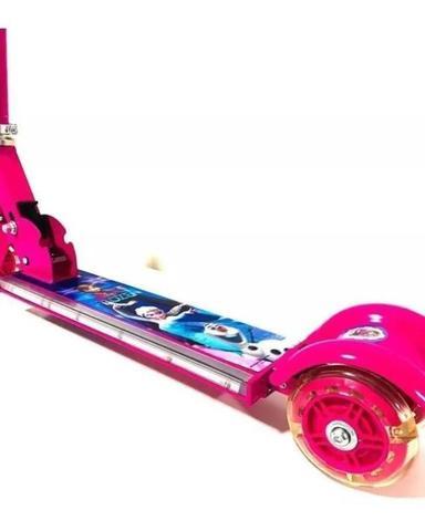 Imagem de Patinete Infantil de Ferro - Frozen - Com Luzes - 3 Rodas