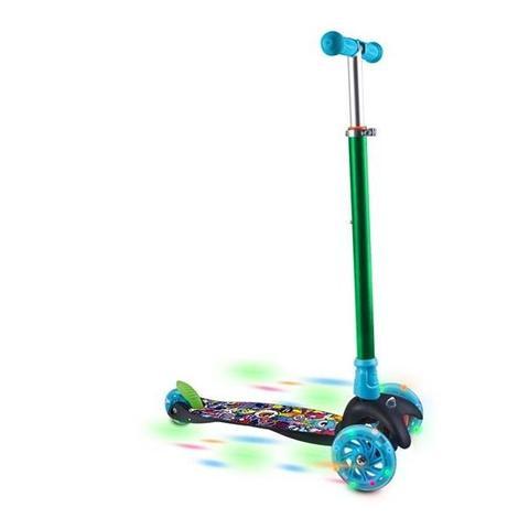 Imagem de Patinete Infantil Monster 3 Rodas Com Led Sem Pilhas - Es114