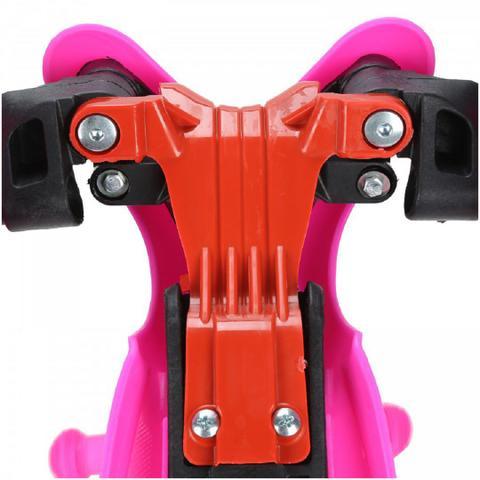 Imagem de Patinete Meninas 3 Rodas Spin Roller com Luzes de Led - Infantil ROSA