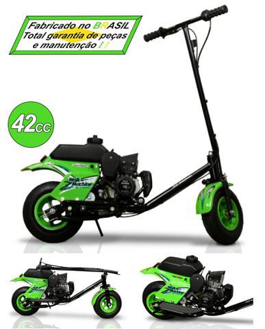 Imagem de Patinete Motorizado com BANCO - Walk Machine Millenium - 42cc - 2T a gasolina.