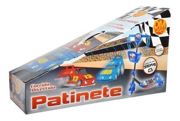 Imagem de Patinete Radical Infantil 3 Rodas Musical Com Cestinha