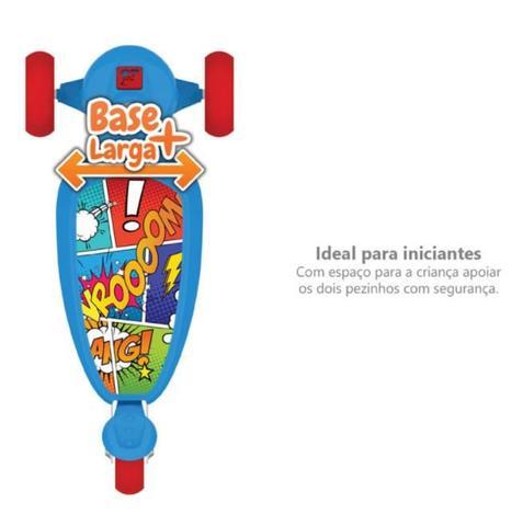 Imagem de Patinete Skatenet 3 Rodas - Kid Azul - Bandeirante -  UNICA