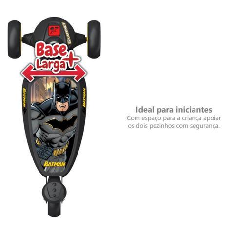 Imagem de Patinete Skatenet Batman 3 Rodas Infantil - Bandeirante 3205