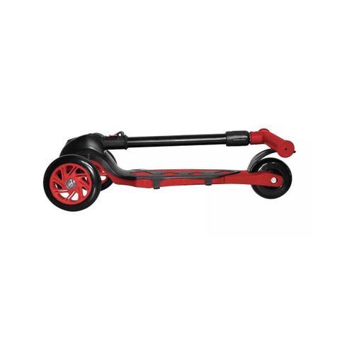 Imagem de Patinete Vermelho Power Ajustável Dobrável 3 Rodas Dm Toys