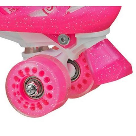 Imagem de Patins Infantil Princess Para Meninas Ajustável 32 a 36 - Roller Derby