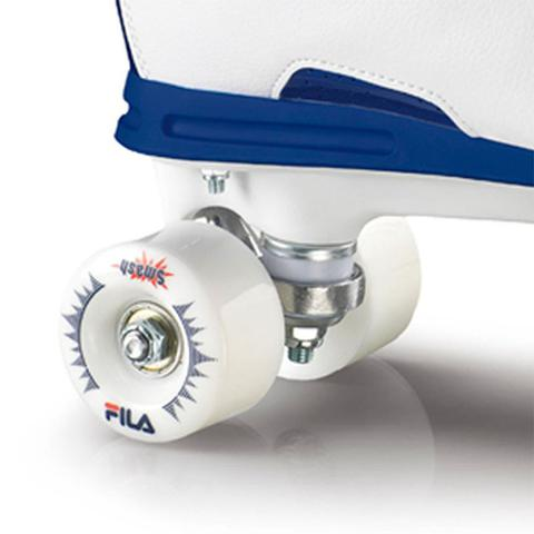 Imagem de Patins Quad Fila Skates Smash Branco/Azul