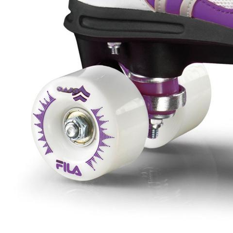 Imagem de Patins Quad Fila Skates Verve WS Branco/Lilás