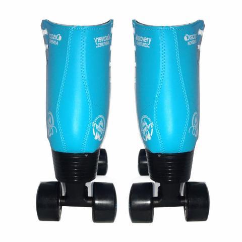 Imagem de Patins Quad Roller 4 Rodas 34 Azul Discovery Adventures Yins