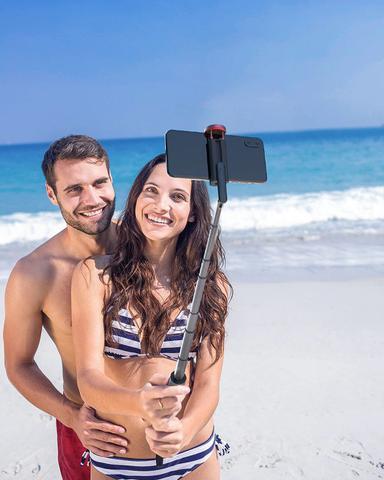 Imagem de Pau Selfie e Tripé Blitzwolf BW BS10 Controle Bluetooth