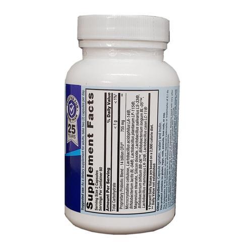 Imagem de PB8 Probiotico 14 bilhoes 120 Capsulas - Nutrition Now
