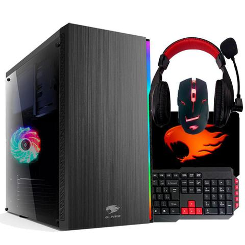 Desktop G-fire Gamer Htg-126 Amd A6-7400k 3.50ghz 4gb 500gb Amd Radeon R5 Windows 10 Sem Monitor