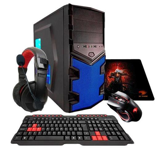 Desktop G-fire Cerberus Ev2 Htg-26 Amd A10 7860k 3.60ghz 8gb 1tb Amd Radeon R7 Windows 10 Sem Monitor