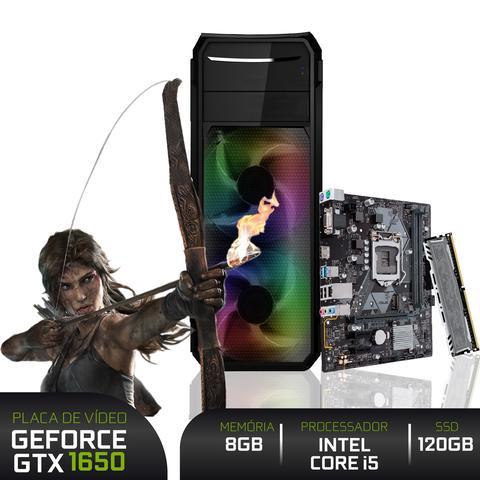 Imagem de PC Gamer 3green Intel Core i5 9400F 8GB DDR4 ASUS SSD 120GB Geforce GTX 1650 4GB