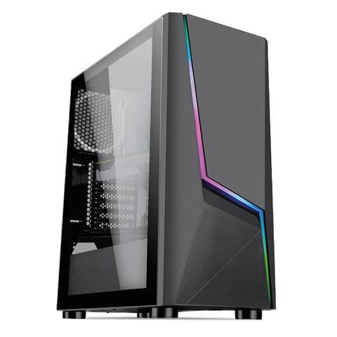 Imagem de PC Gamer Completo AMD Ryzen 3 (Placa de vídeo Radeon VEGA 8) Monitor 21.5