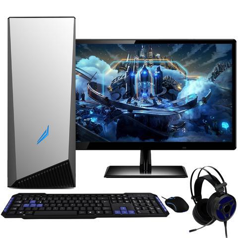 Imagem de PC Gamer Completo com Monitor 21.5 Full HD 2ms LED EasyPC AMD A8 9600 8GB (Radeon R7) HD 1TB