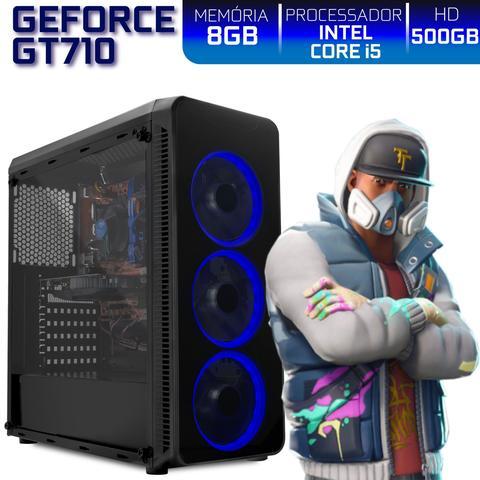 Imagem de PC Gamer EasyPC Ready Intel Core i5 8GB HD 500GB Nvidia Geforce GT710 2GB HDMI Full HD