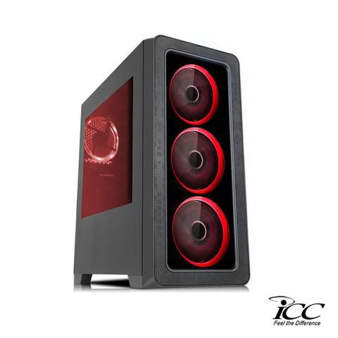 Imagem de PC Gamer ICC KT2382KW Intel Core I3 3,20 Ghz 8GB 1TB GT710 2GB Kit Multimídia Windows 10