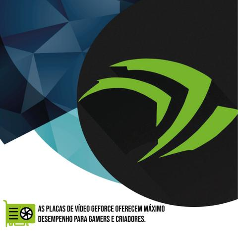 Imagem de PC Gamer Intel 10a Geração Core i5 10400F, Geforce GTX, 8GB DDR4 2666MHZ, SSD 480GB, 500W, Skill PCX