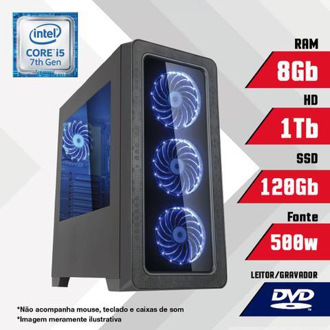 Desktop Certo Pc Brave 5008 I5-7500 3.40ghz 8gb 120gb Intel Hd Graphics 630 Linux Sem Monitor