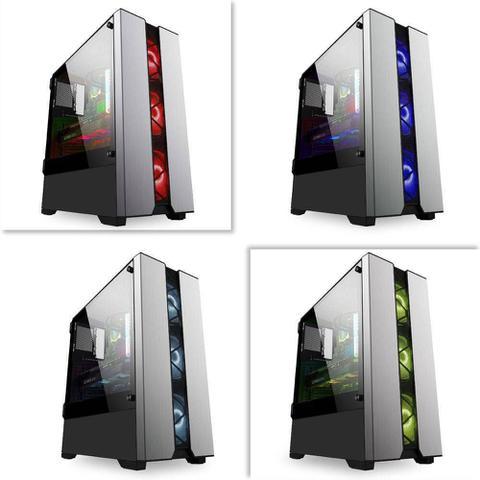 Imagem de Pc Gamer Intel Core i5 8GB HD 1TB Geforce GTX 1050 DDR5 com Monitor 21,5 Full HD EasyPC