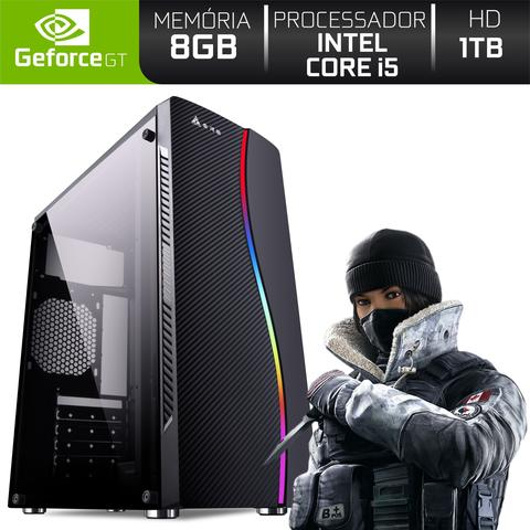 Imagem de PC Gamer Intel Core i5 8GB HD 1TB (Nvidia Geforce GT) EasyPC Light II