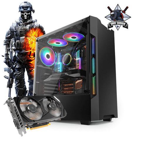 Desktop Neologic Dark Shadow Nli81269 I3-7100 3.90ghz 8gb 1tb Geforce Gtx 1660 Windows 10 Pro Sem Monitor
