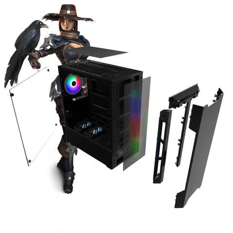 Imagem de PC Gamer Neologic Dark Shadow NLI81272 Intel i5-9400F 8GB (GeForce GTX 1660) 1TB