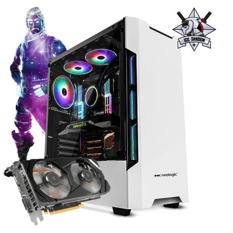 Imagem de Pc Gamer Neologic Ice Shadow NLI81279 Intel i5-9400F 8GB (GTX 1660) 1TB