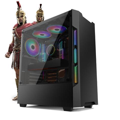 Desktop Neologic Gamer Nli81324 I3-7100 3.90ghz 8gb 240gb Amd Radeon Rx570 Windows 10 Pro Sem Monitor