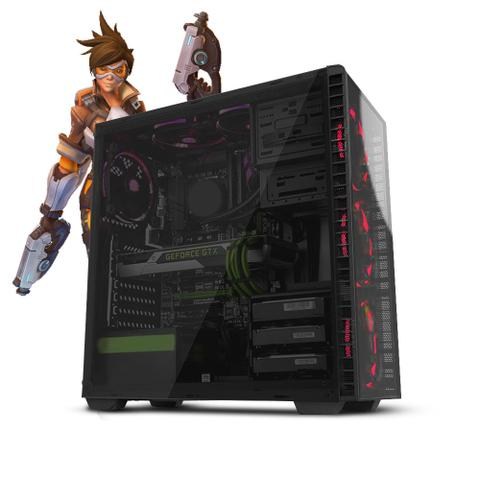 Desktop Neologic Gamer Nli81385 I3-9100f 3.60ghz 8gb 1tb Geforce Gtx 1050 Windows 10 Pro Sem Monitor