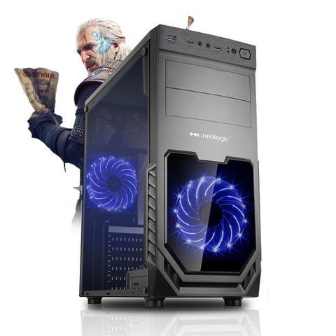 Desktop Neologic Gamer Nli81393 I3-9100f 3.60ghz 8gb 1tb Geforce Gtx 1060 Windows 10 Pro Sem Monitor