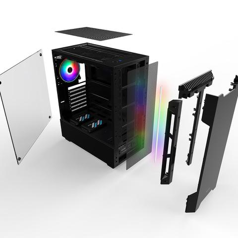 Imagem de PC Gamer Neologic NLI81510 Intel i5-9400F 8GB (RX 580 8GB) 1TB