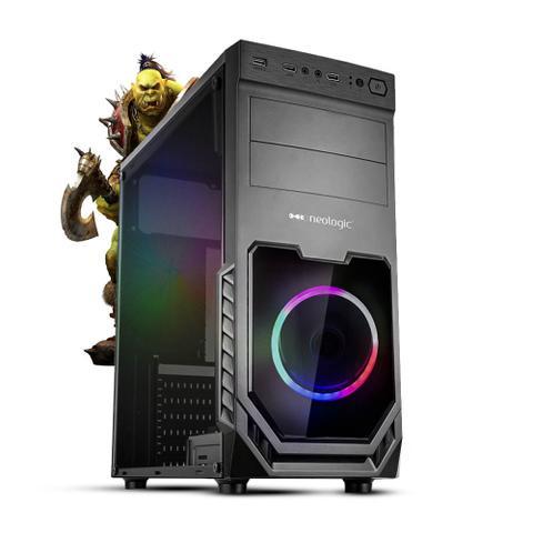 Desktop Neologic Gamer Nli81604 Amd Ryzen 5 3400g 3.70ghz 8gb 1tb Geforce Gtx 1050ti Windows 10 Pro Sem Monitor