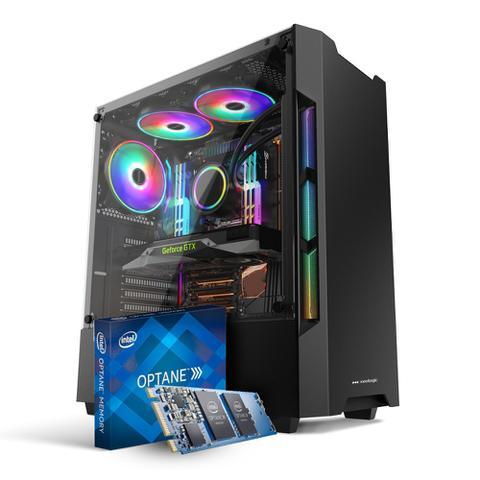 Imagem de Pc Gamer Neologic NLI81670 Intel 9º Geração i5-9400F 8GB (GTX 1650 4GB) 1TB + Intel Optane 16GB