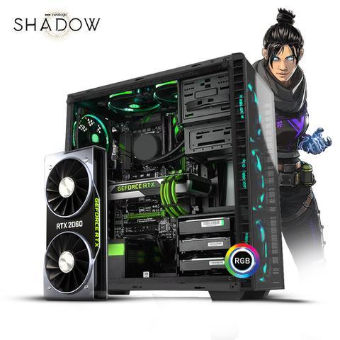 Imagem de Pc Gamer Neologic Shadow I NLI81153 Intel i5-9400F 8GB (RTX 2060) 1TB
